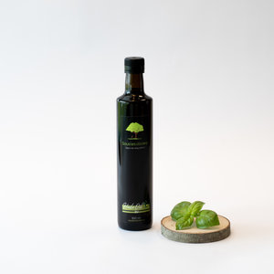 Sous les oliviers HUILE D'OLIVE EXTRA VIERGE - BASILIC