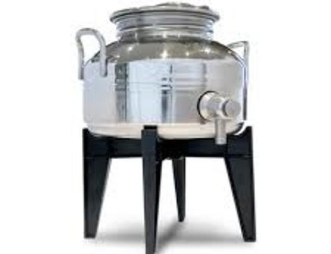 Cibaria Fusti 3 litres pour huile d'olive/vinaigre balsamique avec poignee style robinet