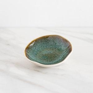 Sous les oliviers Assiette individuelle H&B bleu turquoise