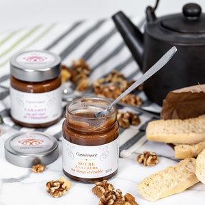 connivence Caramel sucre à la crème au sirop d'érable - Connivence