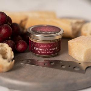 connivence Rillettes de canard et foie gras Nouveaux prix