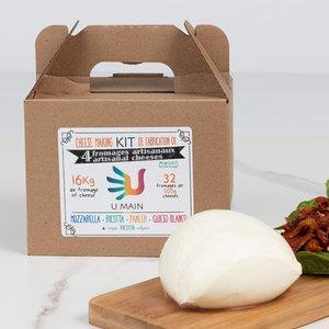 Mozzarella et Paneer | Kit de fabrication de fromage
