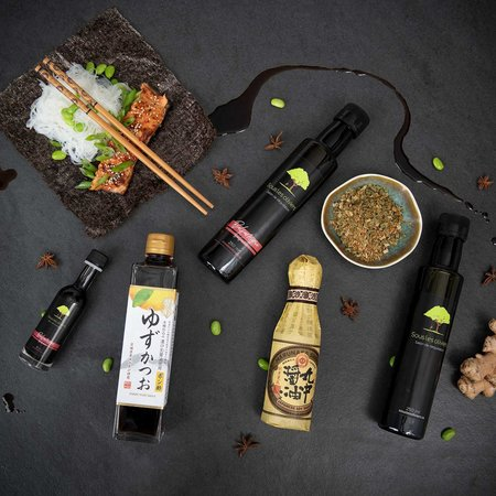 Sous les oliviers Asian Gourmet gift basket