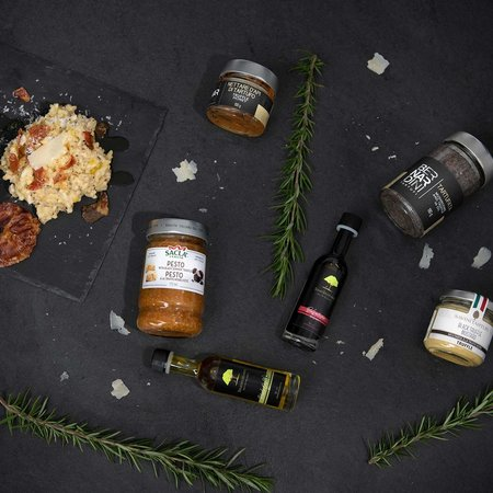 Sous les oliviers Truffle Gourmet gift basket