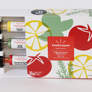 The foodie family Food Crayon Coffret dégustation