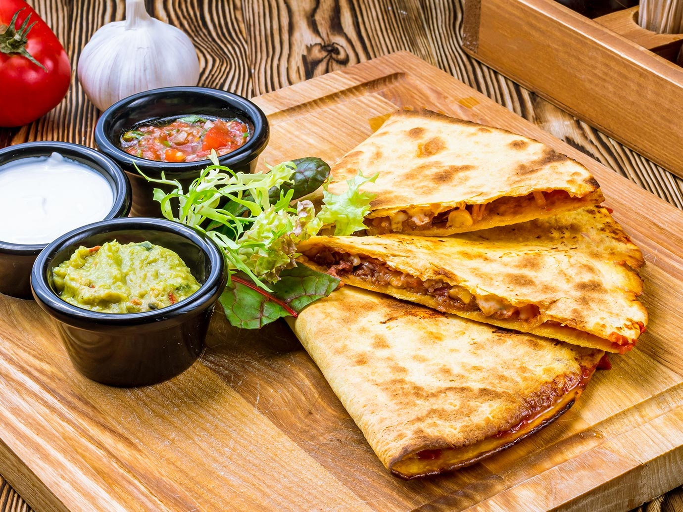 TURKEY OR CHICKEN QUESADILLAS