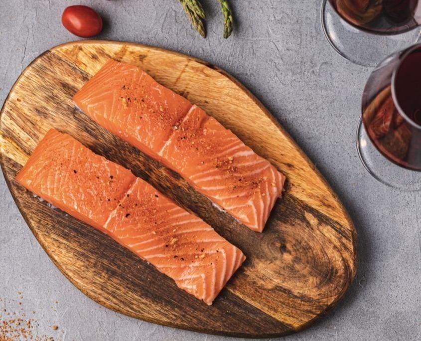 Oven-Baked Salmon using Épices du Guerrier