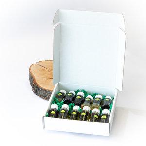 Sous les oliviers Boîte de degustation 6 huiles et 6 vinaigres