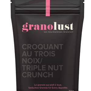 GRANOLUST GRANOLUST - TRIPLE NUT CRUNCH 300g