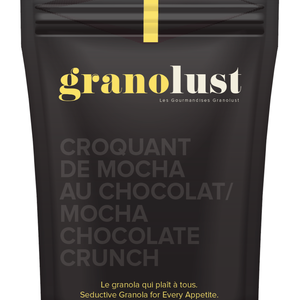 GRANOLUST GRANOLUST - MOCHA CHOCOLATE CRUNCH 300g