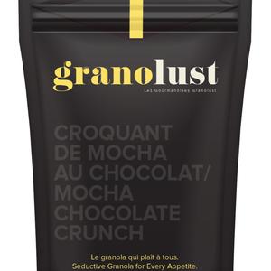 GRANOLUST GRANOLUST - CROQUANT DE MOCHA AU CHOCOLAT 70g
