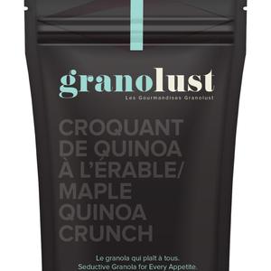 GRANOLUST GRANOLUST - CROQUANT DE QUINOA A L'ÉRABLE 300g