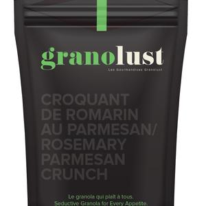 GRANOLUST Granolust - Croquant de romarin au parmesan 70g
