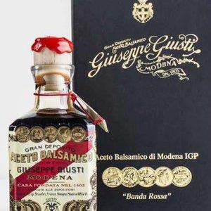 Giuseppe Giusti Balsamique gagnant de 5 medailles DOR 7-10 ans Banda Rossa 250ML