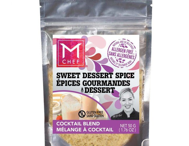 Mchef Copy of Melange d'epices multiusage Sucre d'érable épicé 54g