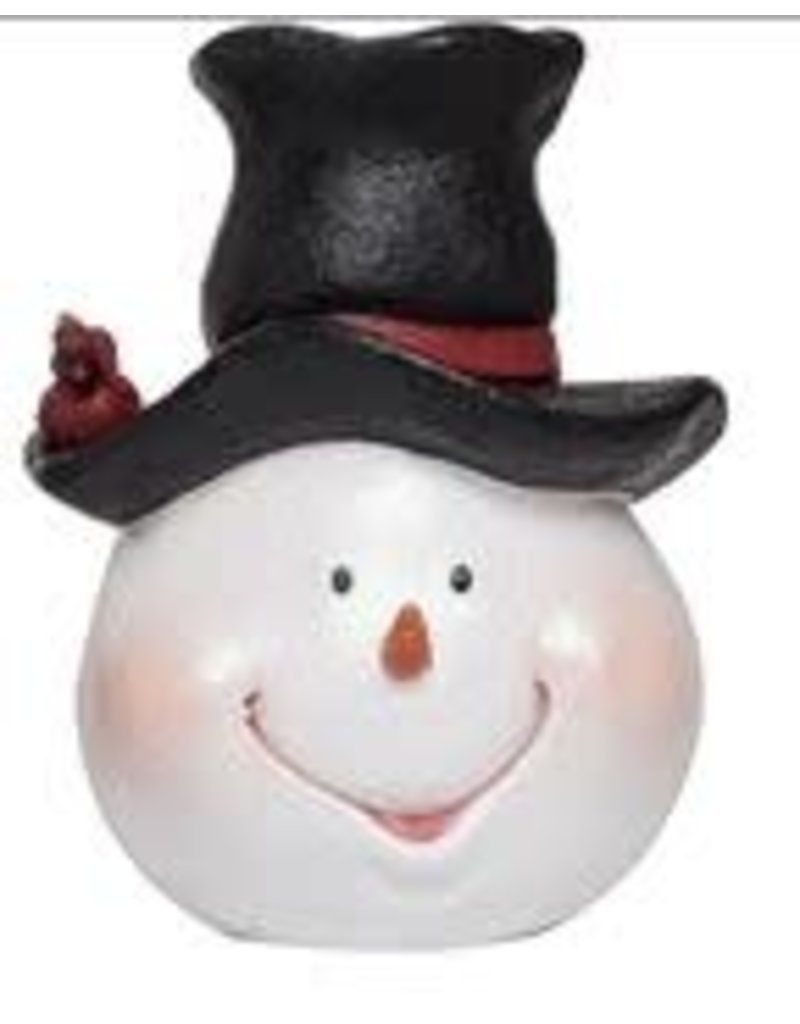 5c755465789b6 Merry Snowman Head Fig with Top Hat - Gifts and More