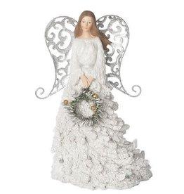 Transpac Elegant Wire Wing Angel