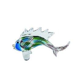UMA ENTERPRISES INC. Larger Colorful Glass Fish