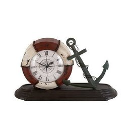 UMA ENTERPRISES INC. Nautical Table Clock