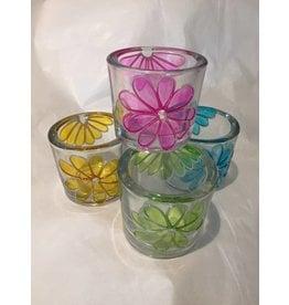 MelRose Flower Tea Light Votive