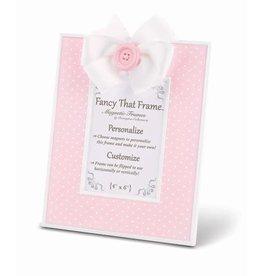 FANCY THAT FRAME Pink Pin Dot Frame