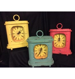 UMA ENTERPRISES INC. Colorful Desk Clock 3A Metal