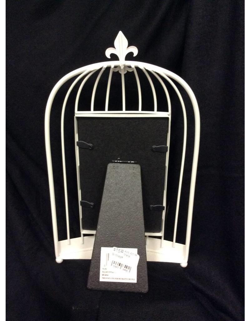 Malden White Birdcage Picture Frame