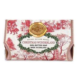 MICHEL DESIGN WORKS CHRISTMAS WONDERLAND Large Soap Bar