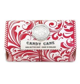 MICHEL DESIGN WORKS CANDY CANE Large Soap Bar