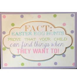 ADAMS & CO. FACT Easter Sign