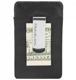 Travelon Safe ID Accent Money Clip Wallet