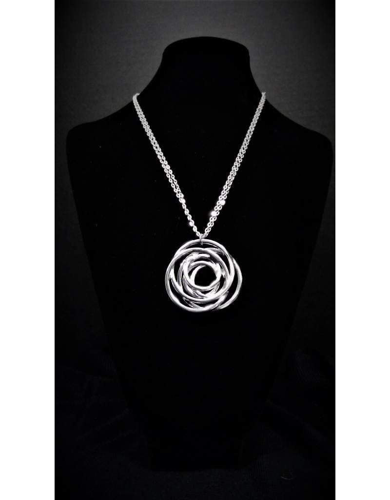 Anna Nova Inspiration Necklace - Silver