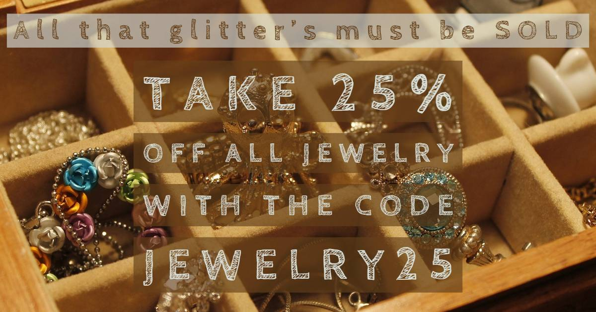 JEWELRY SALE (25%)