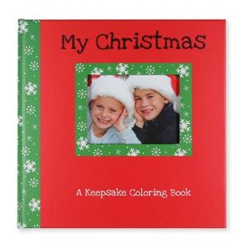 C R Gibson My Christmas Keepsake Coloring Book