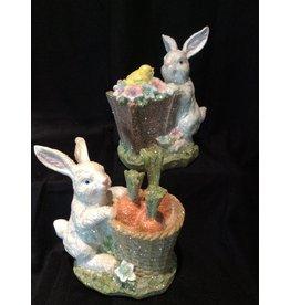 MelRose Easter Bunny w/Basket