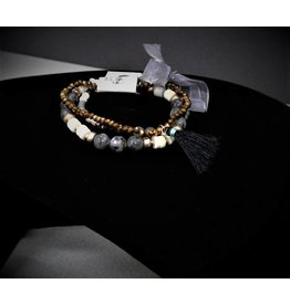 KENZE PANNE JEWELRY 3PC BRACELET SET