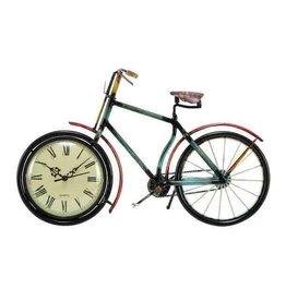 UMA ENTERPRISES INC. Metal Bike Clock