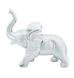 UMA ENTERPRISES INC. Ceramic Silver Elephant