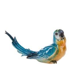 UMA ENTERPRISES INC. Blue Parrot Longtail Polystone