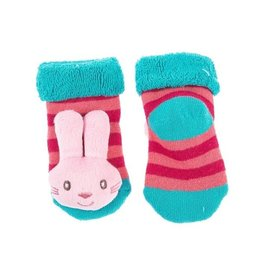 MIDWEST CBK Bunny Rattle Baby Socks