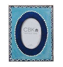 MIDWEST CBK Dot & Circle Pattern Frame 4X6
