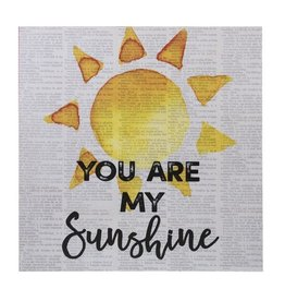 Light Up Plaque - You are my Sunshine