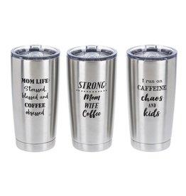 Mom Goals Coffee Tumblers