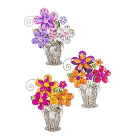 Daisy Posy Pot with Vase