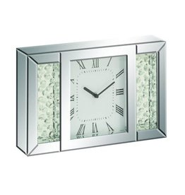 UMA ENTERPRISES INC. Mirror Table Clock