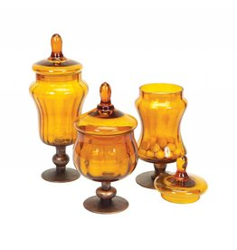 MelRose 3 pc. Canister set with Metal Base