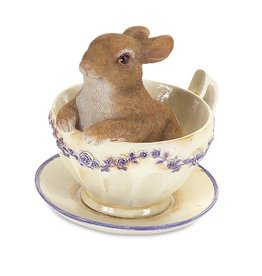 MelRose Rabbit in Teacup