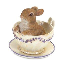 MelRose Rabbit in Teacup