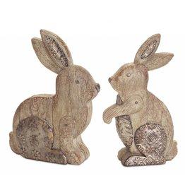 MelRose Rabbit w/Pattern Accents