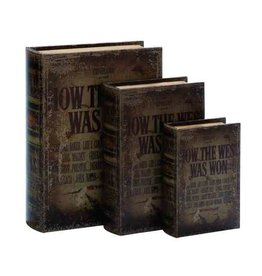 UMA ENTERPRISES INC. Book Box Set - HOW THE WEST WAS WON